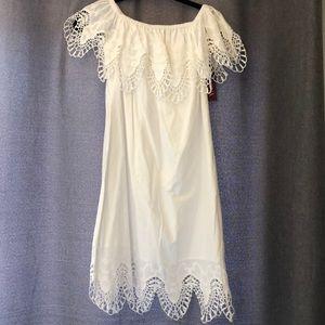 White Lace Dress Brand New